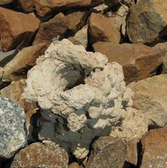 rubble, igneous rock, geology, rock,