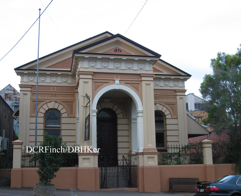 Royal Bank of Queensland - Gympie, Qld - 1892