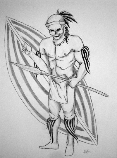 African Symbol for Warrior http://www.tattoopins.com/461/african-warrior-symbols-group-picture-image-by-tag/QkE2MzgwRkNBNkU0RUJDQzNFRUExNjc1OEI3RTIyMkMzQ0EwOTAwQg/
