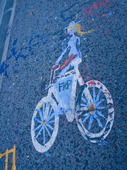 Bike Lane Art