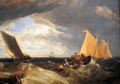 Joseph Mallord William Turner at The Junction of the Thames and the Medway at National Art Gallery Washington DC