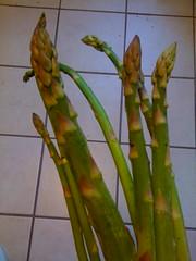 Market asparagus