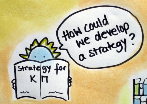 How to develop a KM strategy? (Credits: UNU-ViE_SCIENTIA / FlickR)
