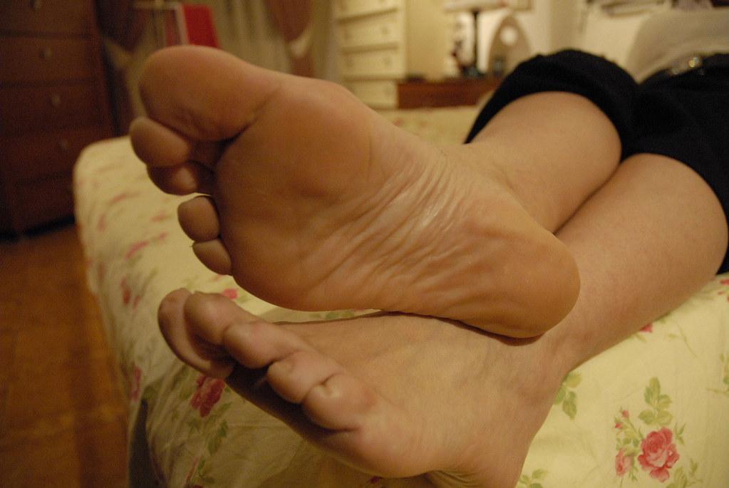 Black patent high heels stockings