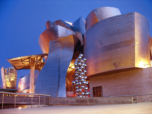 Blue Hour Architecture, Guggenheim Museum Bilbao, Spain