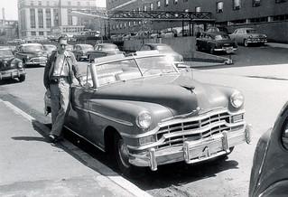 MIT - Bob Logcher and Car (1955)