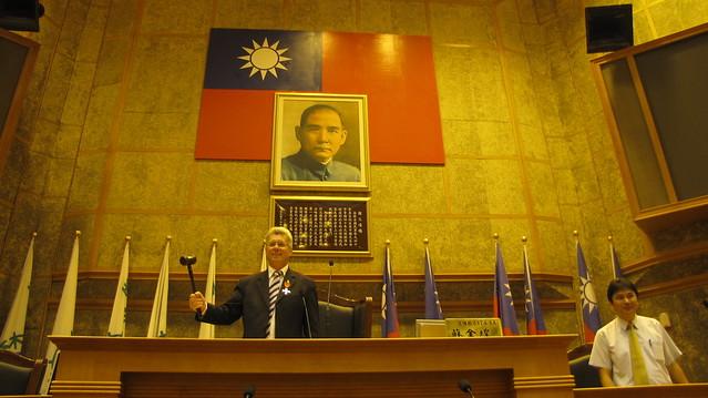 2010年5月份-金色山莊安排Hauraki市長拜會雲林縣議會