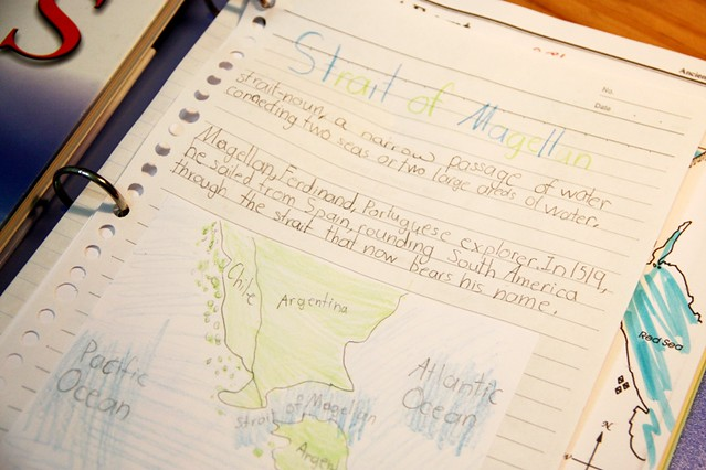 geography notebooking