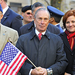NYC Mayor Michael Bloomberg at the Veteran