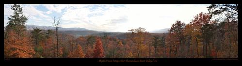 green fall landscape cabin nikon autum foliage shenandoah 28300 d5000 tonemappaed