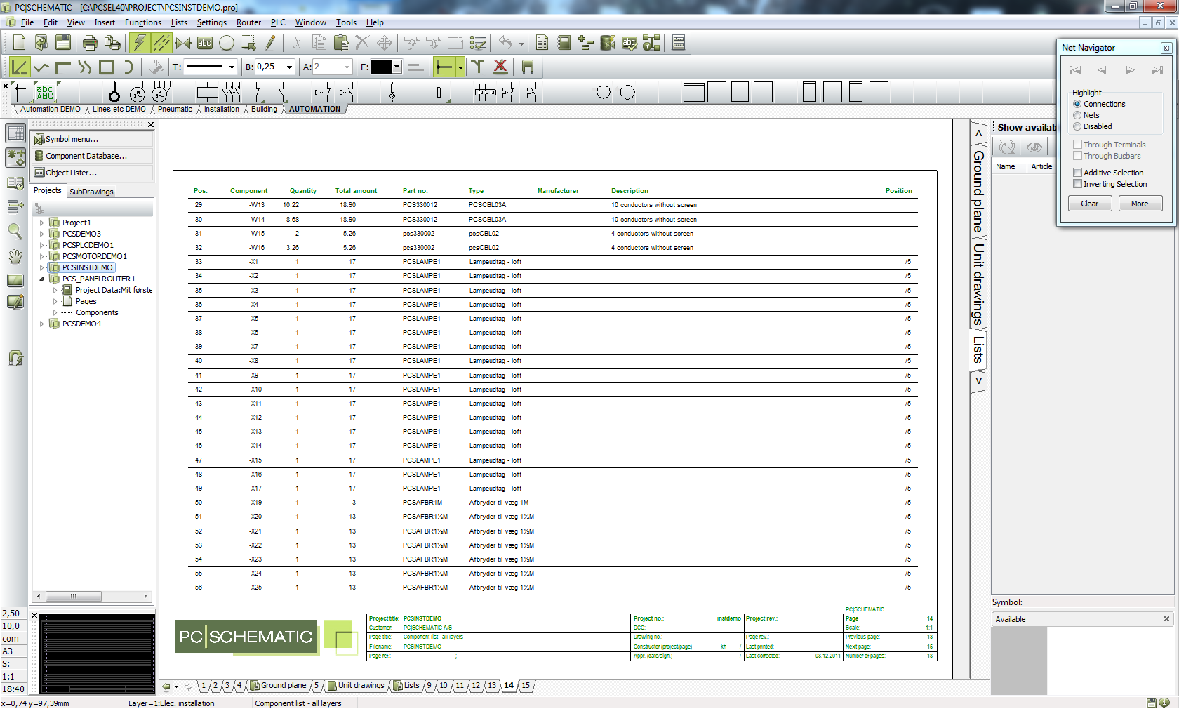 Working with PCSCHEMATIC Automation v17.06 full license
