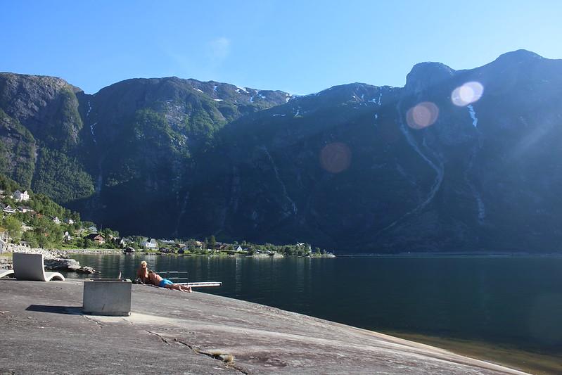 Bading i Eidfjord