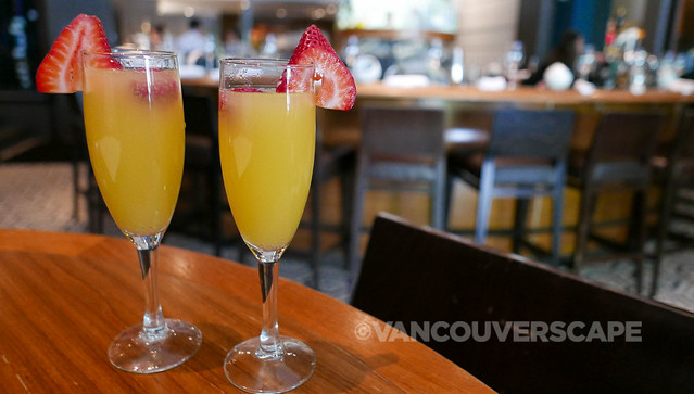 Ringing in Canada Day with mimosas