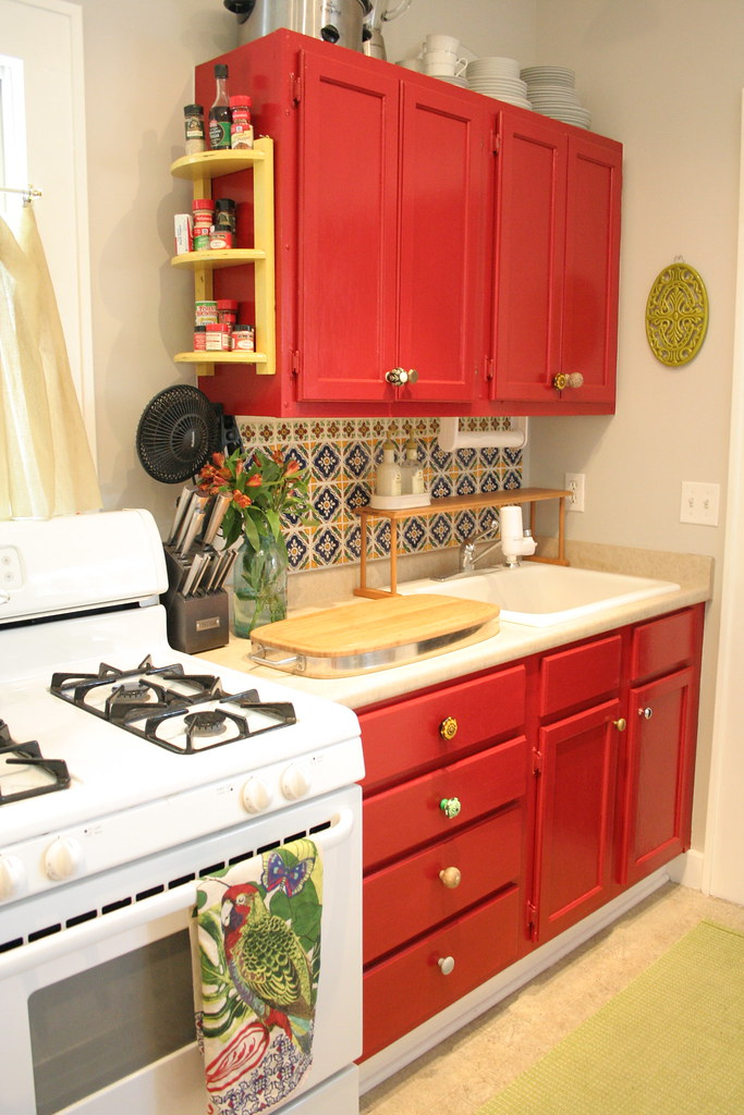 Mexican inspired kitchen amanda s apartment kara paslay for Mexican inspired kitchen ideas