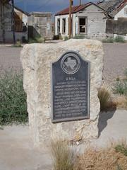 Orla Marker (Orla, Texas)