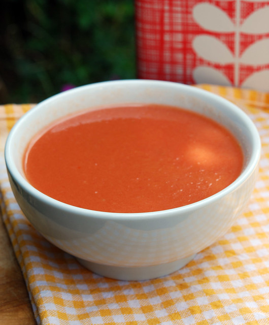 Gazpacho - Cold Tomato soup | With Cucumber and Red Peppers ...
