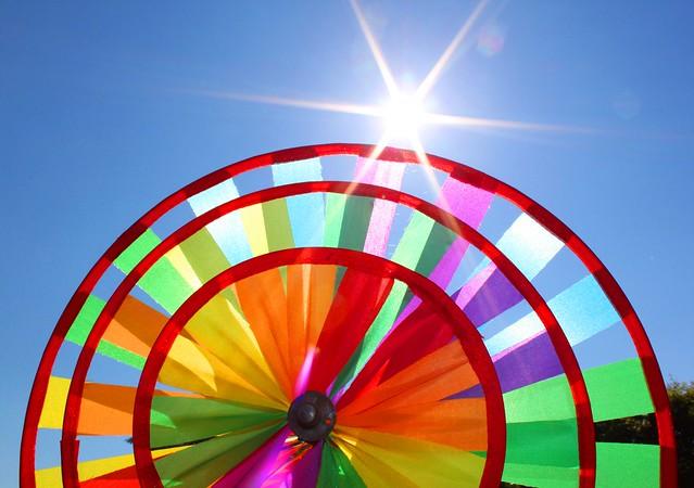 windmill sun