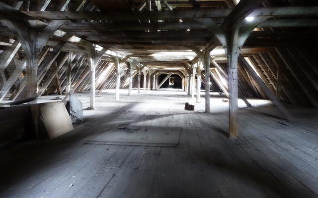 Möllenbeck Monastery, attic