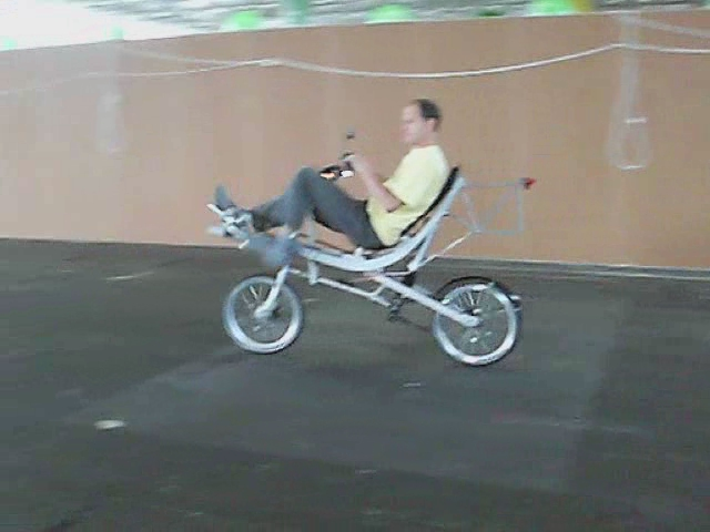 Up and down recumbent