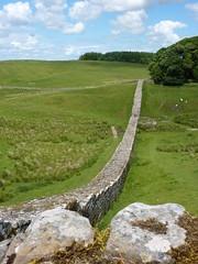 Hadrian's Wall by Bryn Pinzgauer