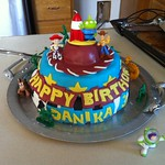 Danika's birthday cake