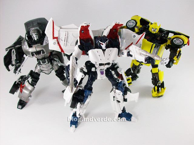 Transformers Starscream Alternity vs Megatron vs Bumblebee ... Bumblebee Vs Megatron