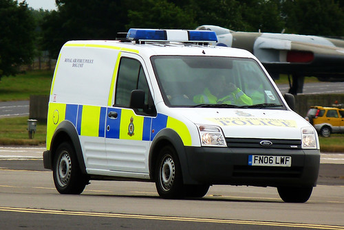 Ford RAF Police Dog Unit Van