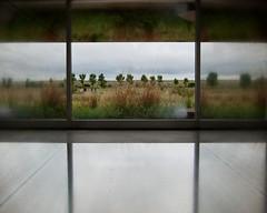 Chinati - Judd Cube Reflection and Window