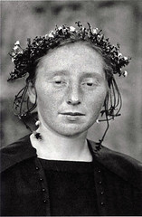 Rural bride, by August Sander ca. 1921-22