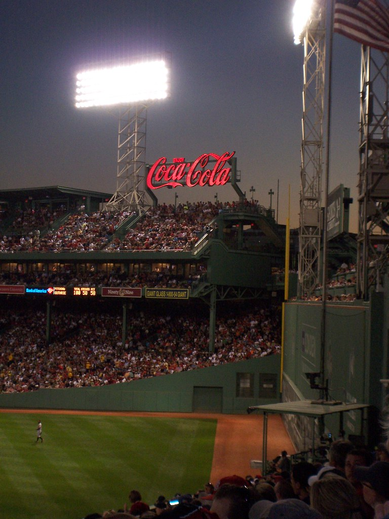 coca cola at fenway park