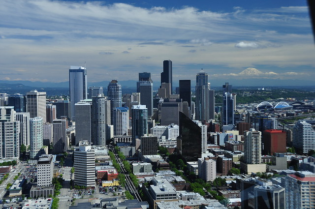 View from the Seattle Space Needle