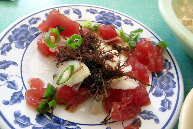 O 39 ahu kalihi helena 39 s hawaiian food ahi poke flickr for Authentic hawaiian cuisine