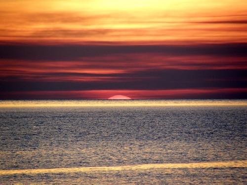sunset bintulu