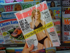 tabloid(0.0), poster(0.0), comics(0.0), magazine(1.0), advertising(1.0),