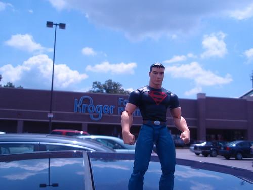 superboy goes to kroger
