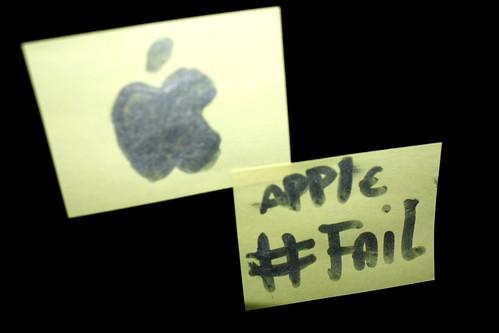 Apple #Fail