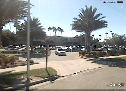 Southgate Mall, Sarasota FL (via Google Earth)