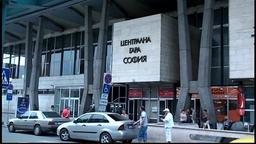 Sofia Bulgaria Train Station. by Vasenka