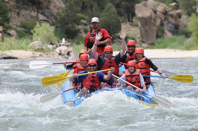 River Rafting In Colorado Flickr Photo Sharing