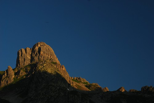 mountains alpes sunrise twilight rando savoie 2010 beaufortain pierramenta