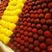Thousands of Pieces of Fresh Fruit at La Boqueria Market, Barcelona