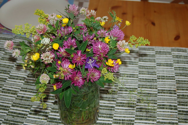 Swedish summer in a vase