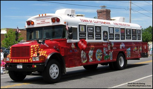 Town of Clifton Park, NY Fire Prevention Bus