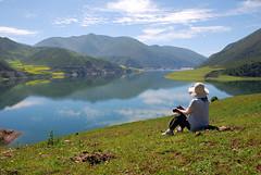 fjord, mountain, reservoir, nature, mountain range, loch, lake, hill, highland, ridge, tarn, plateau, meadow, landscape, wilderness, lake district, mountainous landforms,