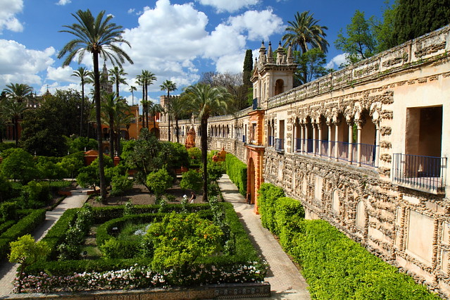 Jardines del Real Alcázar  Flickr - Photo Sharing!