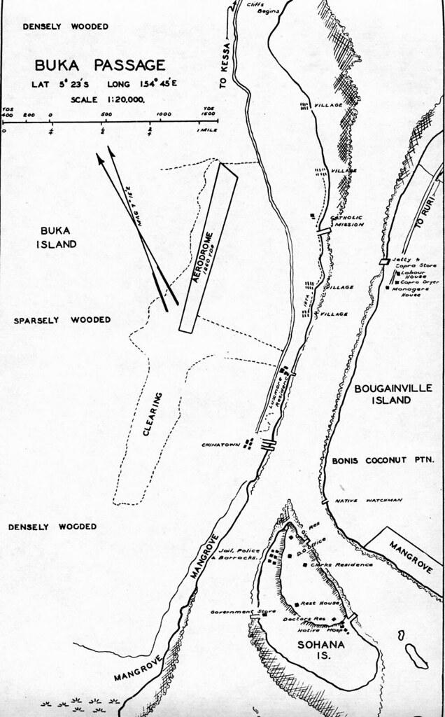 Aerodrome Buka Island 1942