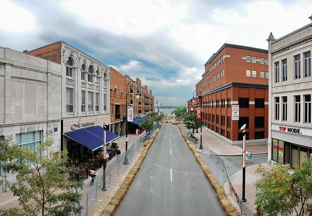 Rue des Forges, vers du Fleuve