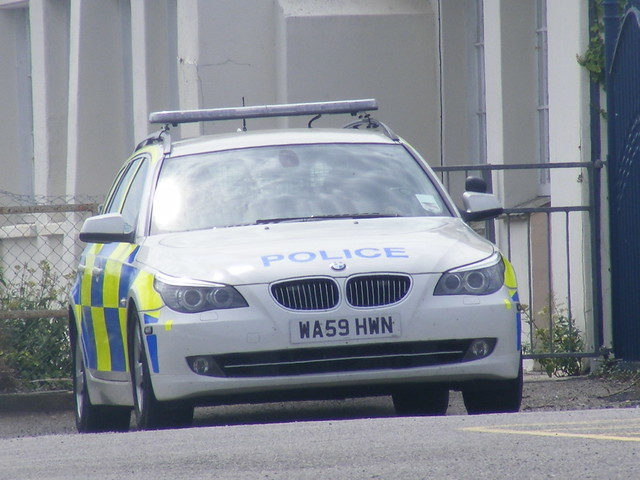 Devon and Cornwall Police BMW ARV
