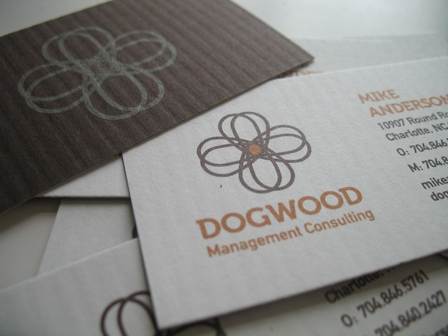 Dogwood Business Cards