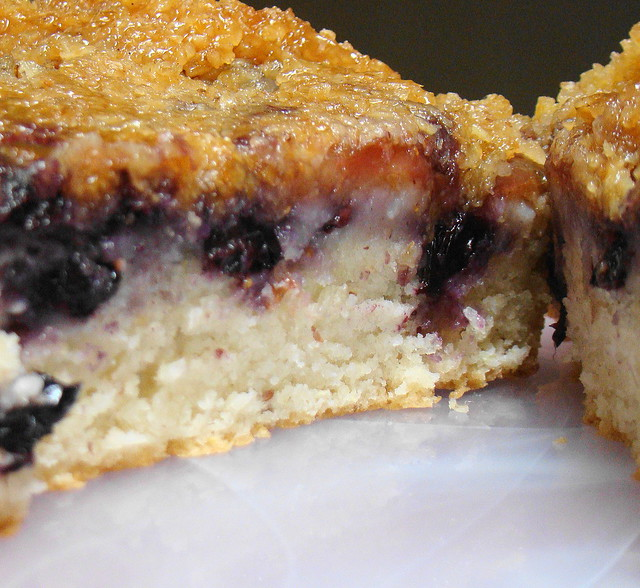 Blueberry Fig Crumble Coffee Cake | Serves 8 | By: Vegan Feast ...